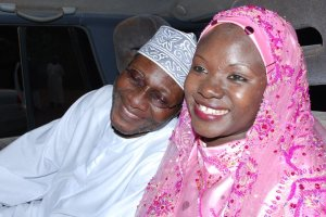 Aisha Kabanda and her husband