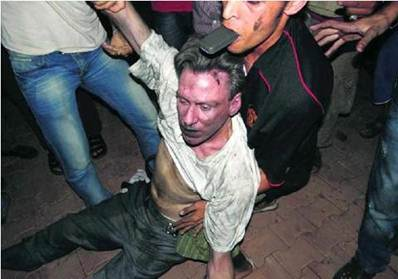 PHOTOGRAPH OF US AMBASADOR TO LIBYA CHRIS STEVENS BEFORE HE WAS KILLED YESTERDAY