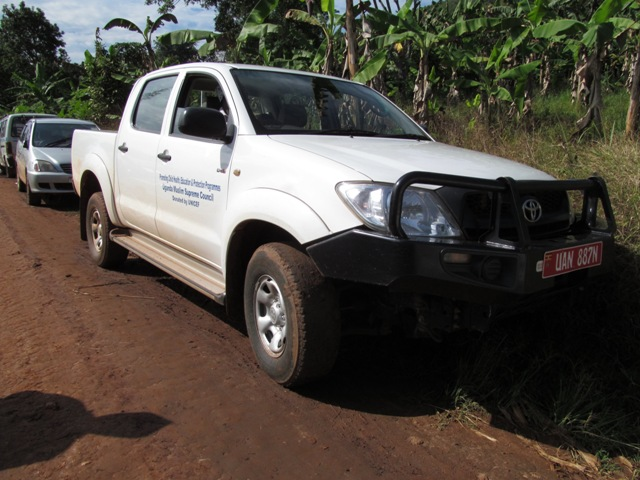 One of the Vehicles donated by UNICEF to UMSC